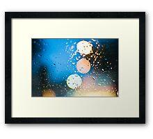 Rain Framed Print