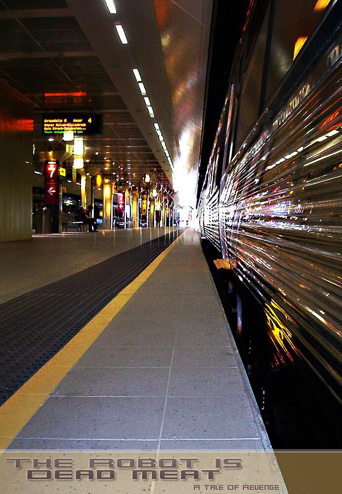 Train 22 03 13 by Robert Phillips