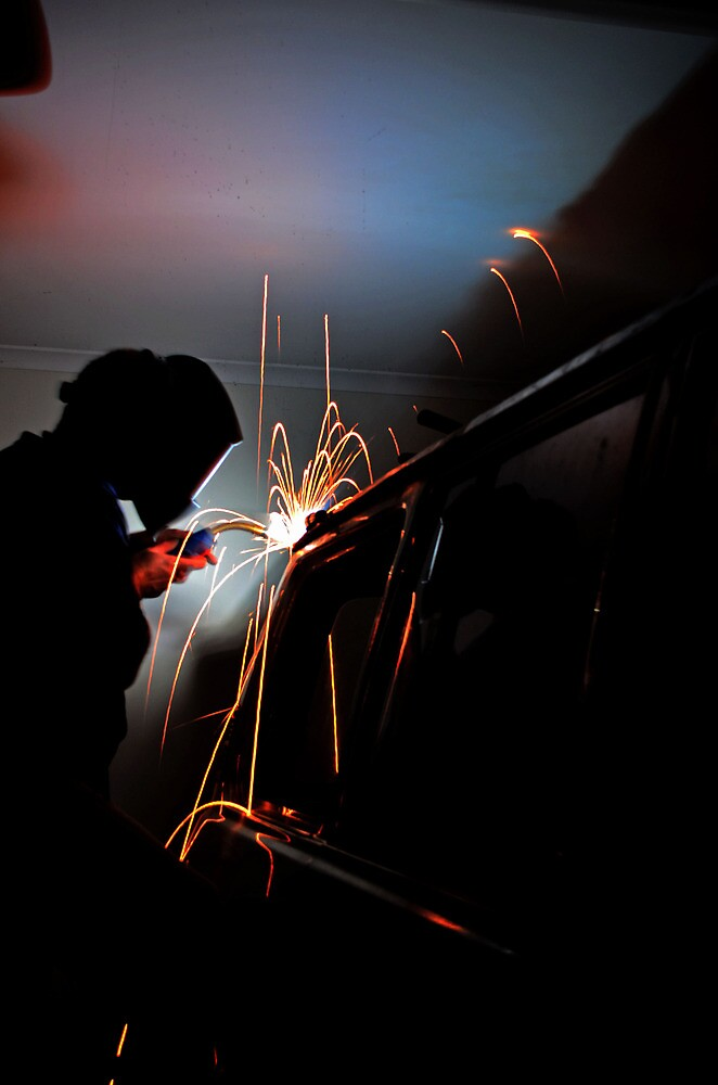 Welding #2 by Tom Blanche