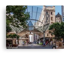 Rundle Mall - The Real centre of the Mall Canvas Print