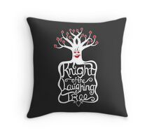 Knight of the Laughing Tree Throw Pillow