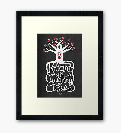 Knight of the Laughing Tree Framed Print