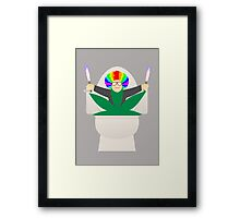 I Love You, Drugs! Framed Print
