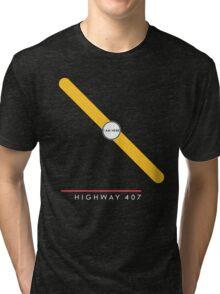 Highway 407 station Tri-blend T-Shirt