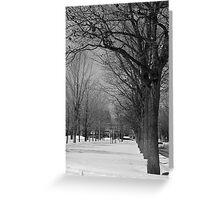 La Rue Greeting Card