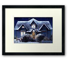 Quiet Winter Night Framed Print