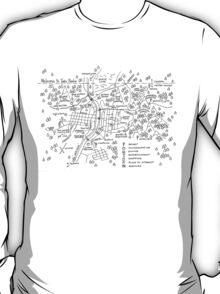 Twin Peaks (Light Background) T-Shirt