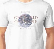 One World One People Unisex T-Shirt