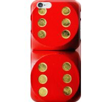 Dice Double Six  iPhone Case/Skin