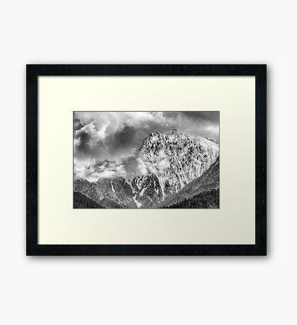 Mount Index Framed Print