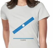 Station Fabre Womens Fitted T-Shirt