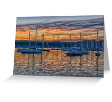 Safe Harbour - Newport , Sydney Australia - The HDR Experience Greeting Card