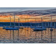 Safe Harbour - Newport , Sydney Australia - The HDR Experience Photographic Print