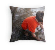 SEAMUS LAKESIDE Throw Pillow