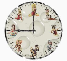 Sexy Girls Clock by Miraart