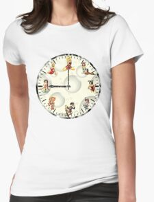 Sexy Girls Clock T-Shirt