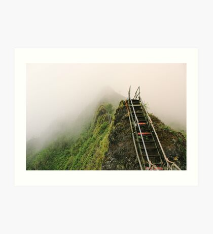 Haiku Stairs Art Print