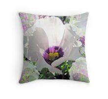 Passionate Purple Throw Pillow