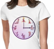 Sexy Girls Clock5 Womens Fitted T-Shirt