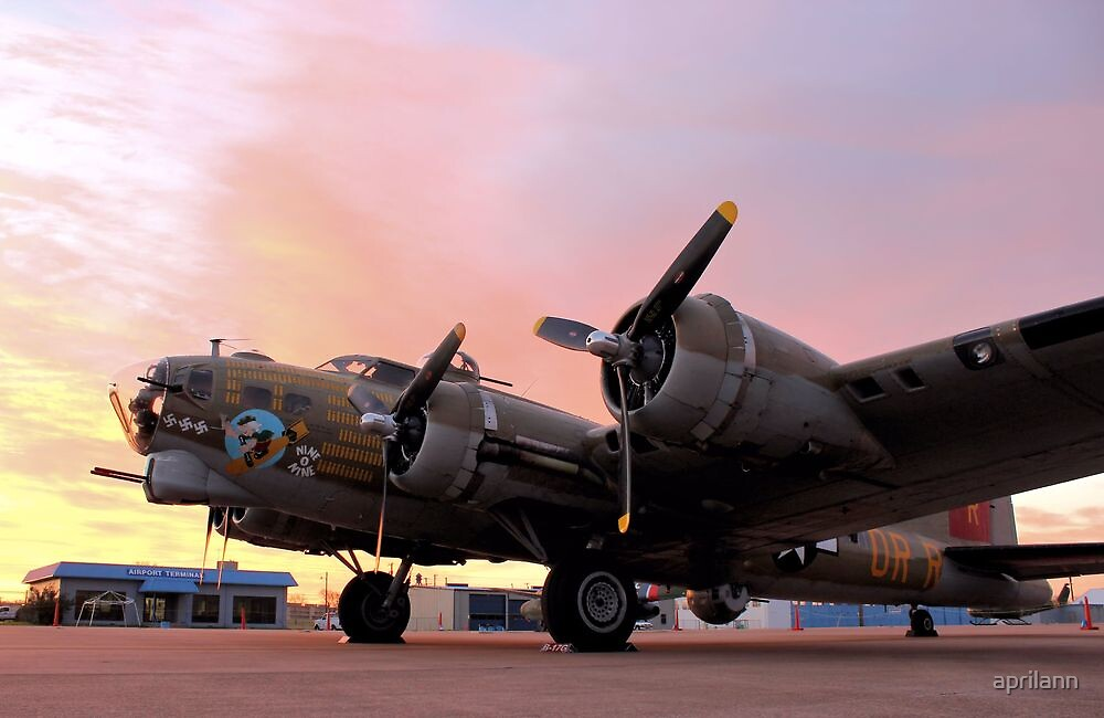 A B-17 Sunrise by aprilann