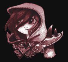 Heart the Assassin One Piece - Short Sleeve