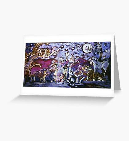 Gypsy wedding Greeting Card
