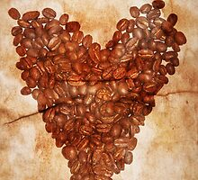 Coffee Heart by Denise Abé