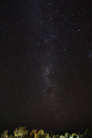 Milky Way over the Red Centre II by myebra