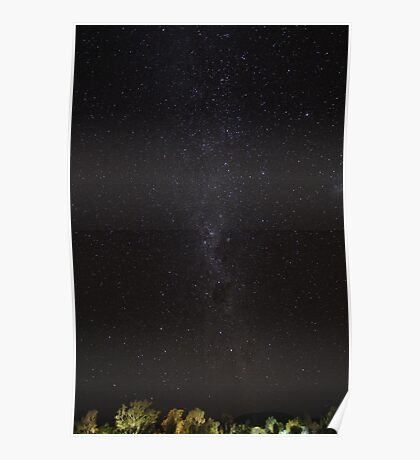 Milky Way over the Red Centre II Poster