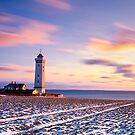 Helnæs Lighthouse by Bogdan Ciocsan