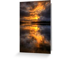 Daybreak - Narrabeen Lakes Sydney Australia  - The HDR Experience Greeting Card
