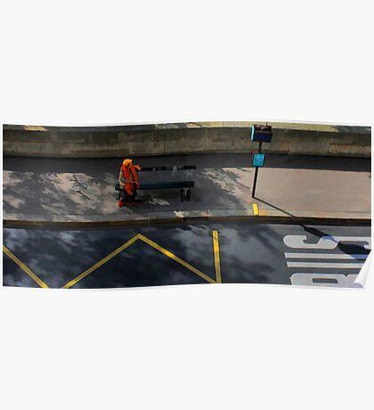 People of Paris. Bustop2 Poster