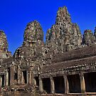 Cambodia. Angkor Thom. Bayon. by vadim19