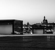 Dresden-Skyline by TF-Art