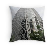 Tokyo Office Building Throw Pillow