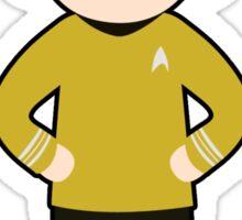 Captain James T. Kirk Sticker