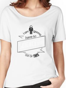 The martian Women's Relaxed Fit T-Shirt