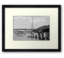 Duck Tour Boston Framed Print