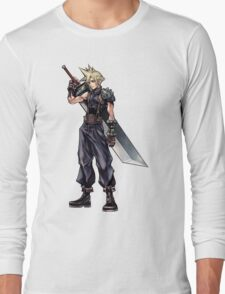 Cloud Strife Long Sleeve T-Shirt