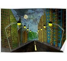 Street Lights Poster