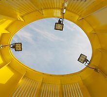 Inside a Yellow Tube by jojobob
