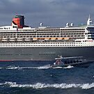 Queen Mary 2 by Cecily McCarthy