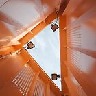 Inside an Orange Triangle by jojobob