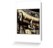 Dead Weather - Jack White & Alison Mosshart Greeting Card