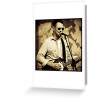 Eric Lindell Greeting Card