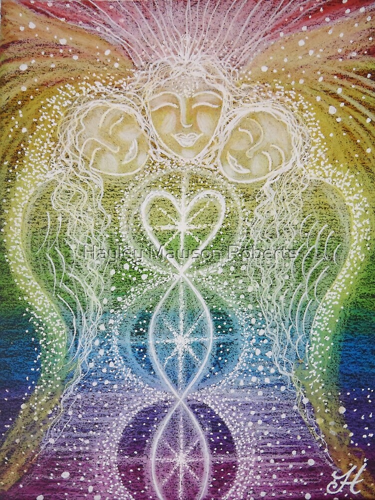 Guardians of the Rainbow - Reiki charged  by Hayley Mawson Roberts
