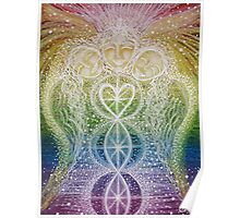 Guardians of the Rainbow - Reiki charged  Poster
