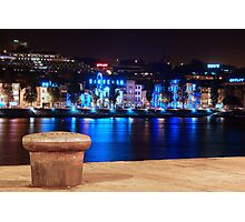 Oporto at Night Photographic Print