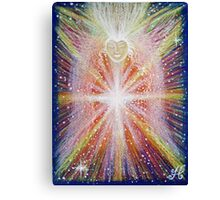 Activation Angel - Reiki charged Canvas Print