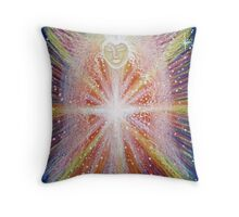 Activation Angel - Reiki charged Throw Pillow